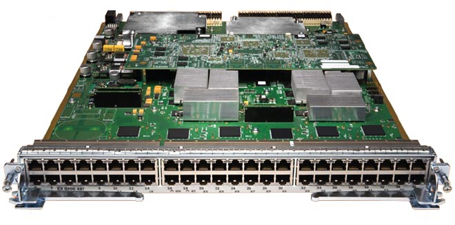 Juniper Networks EX8200-48T Ethernet Line Card
